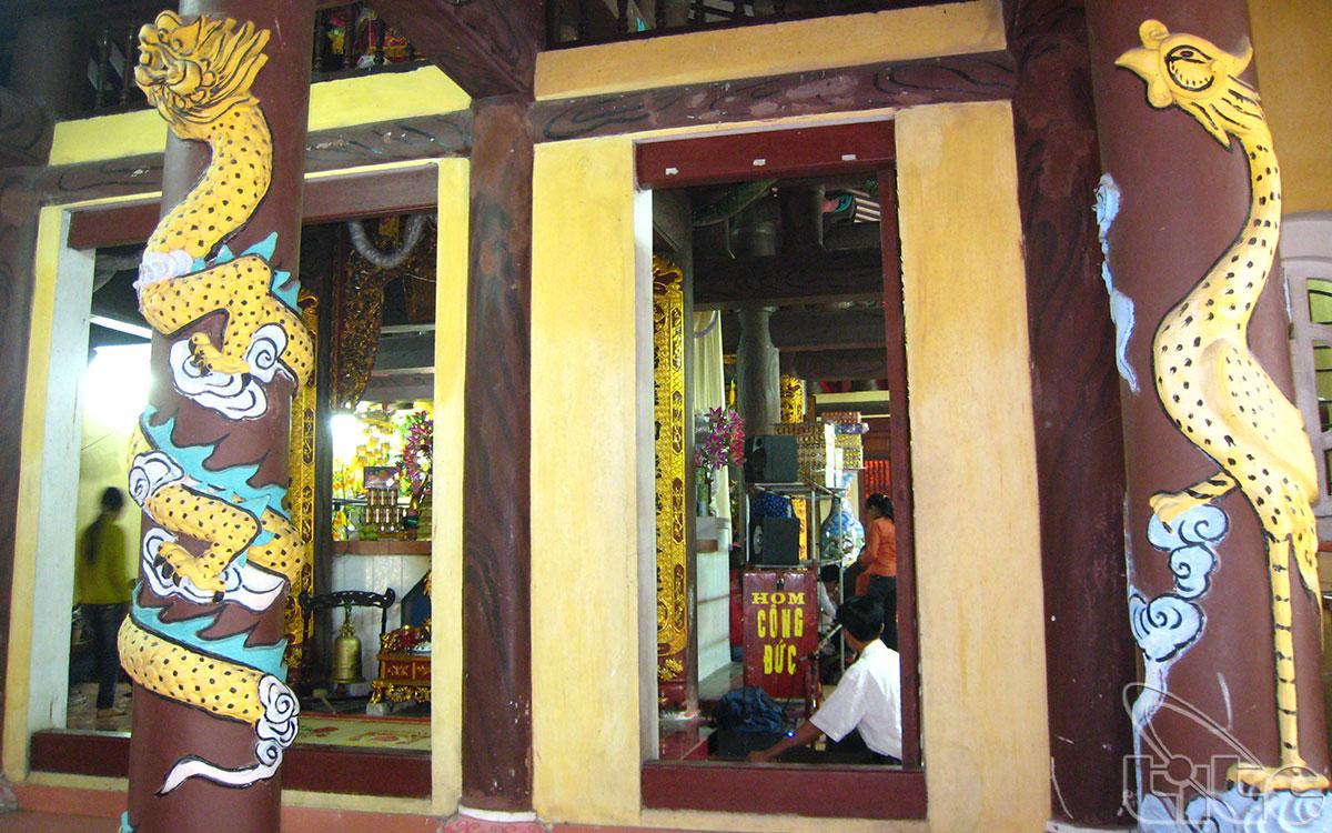 Đền Tiên La được Nhà nước công nhận di tích lịch sử văn hoá cấp quốc gia ngày 12/11/1986
