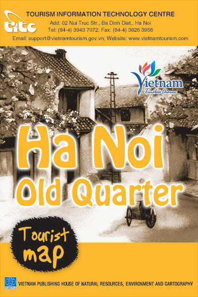 Ha Noi Old Quarter Tourist Map – the 2nd edition, 2014
