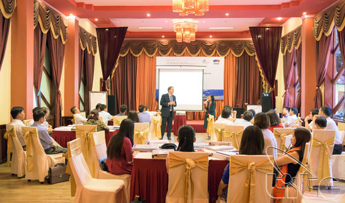 Training course on the implementation of the tourism development master planning