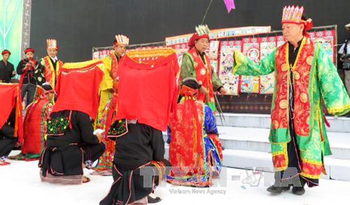 Glimpse of Vien Son harvest festival in Yen Bai Province