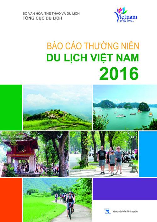 Sách: Báo cáo thường niên du lịch Việt Nam 2016