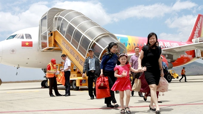 Vietjet offers promotional tickets on routes to Thailand
