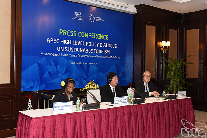 Press conference on APEC High Level Policy Dialogue on Sustainable Tourism