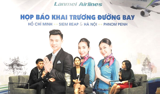 Lanmei Airlines launches new flights