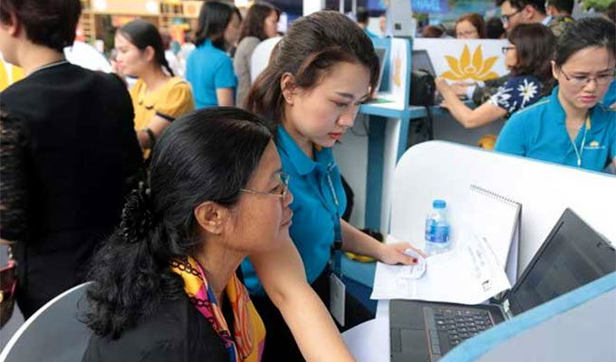 Vietnam Airlines offers online hotel booking service