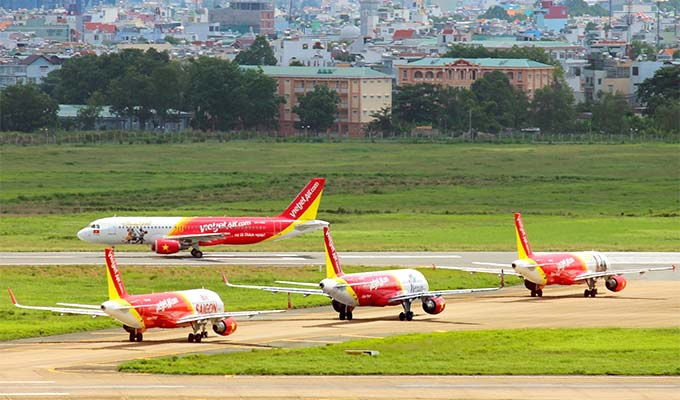 Vietjet launches three-day ticket promotion