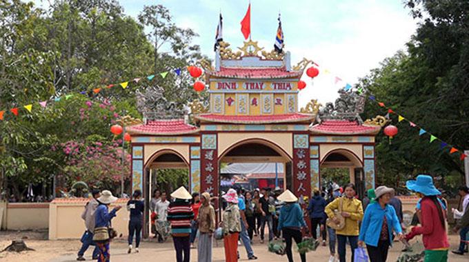 Bình Thuận: Chuẩn bị Lễ hội Văn hóa - Du lịch Dinh Thầy Thím năm 2018