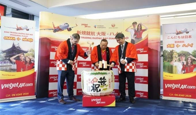 Vietjet Air opens first direct route from Ha Noi to Japan