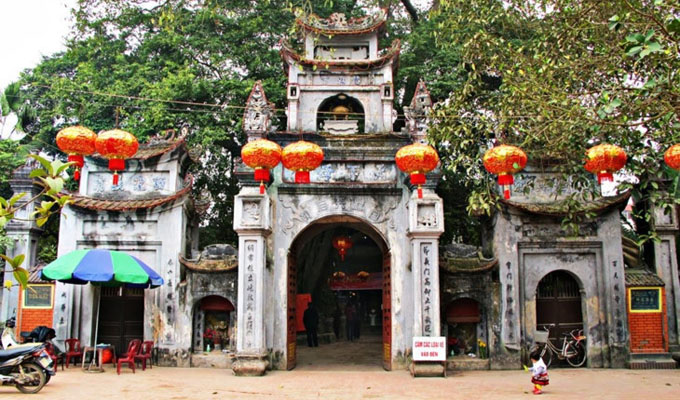 Mother Goddess Temple in Hung Yen