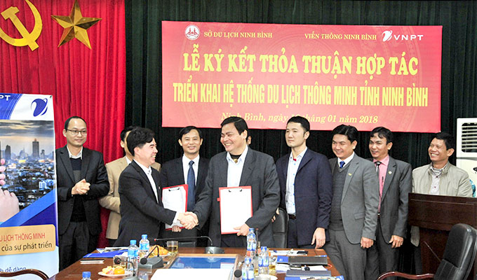 VNPT to support Ninh Binh province in developing smart tourism