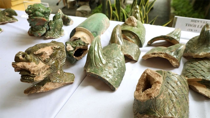 More vestiges uncovered in Thang Long royal citadel