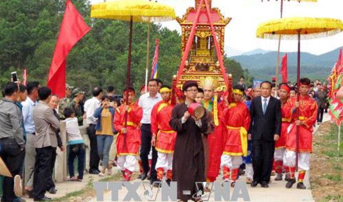 Mieu Ong - Mieu Ba Festival 2018 kicks off in Quang Ninh