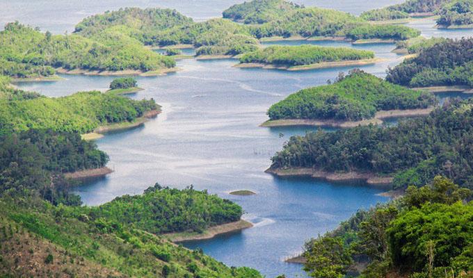 Khám phá hàng chục đảo nổi giữa cao nguyên M'Nông (Đắk Nông)