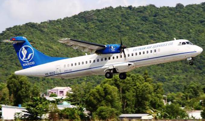 Hàng không VASCO bay đúng giờ nhất Việt Nam