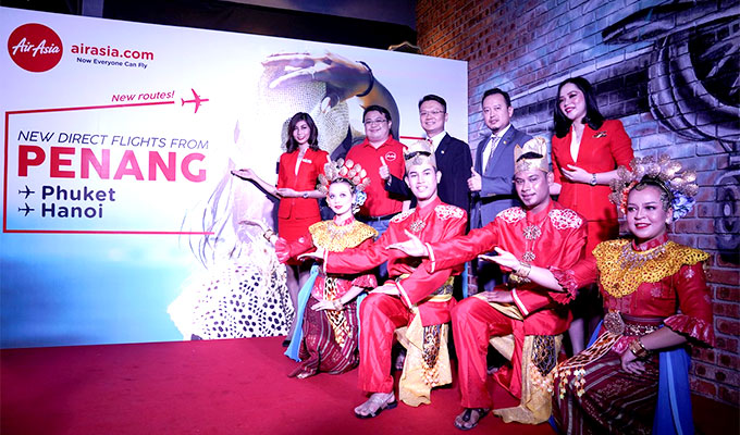 Air Asia launches Ha Noi-Penang direct air route
