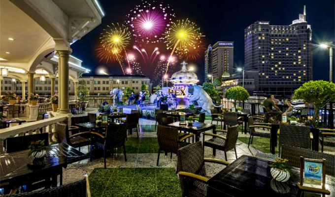 Beer Festival 2018 at Rex Hotel Saigon's Rooftop Garden Bar