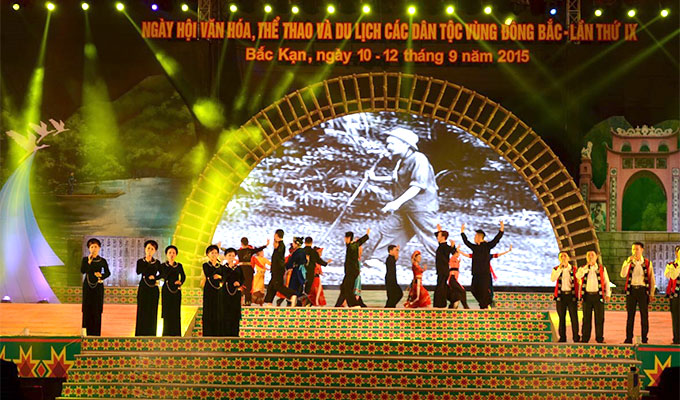 Vinh Phuc hosts northeast ethnic groups' cultural festival