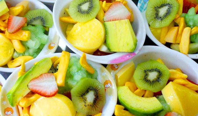 Summer fruit cups offer tasty fun
