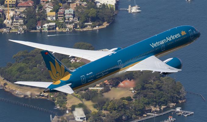 Vietnam Airlines mở đường bay TP. Hồ Chí Minh - Chu Lai và Đà Nẵng - Cần Thơ
