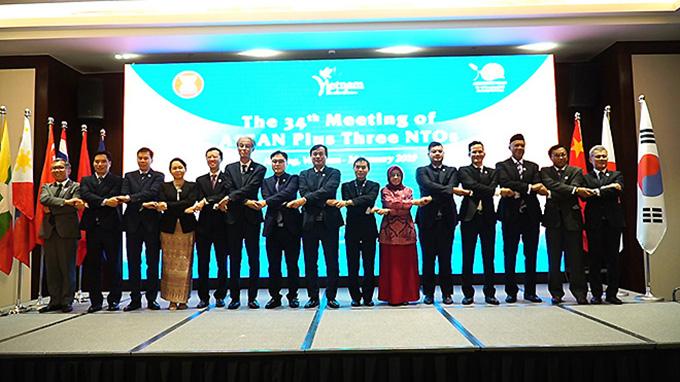 Khai mạc Hội nghị Cơ quan du lịch quốc gia ASEAN+3 lần thứ 34