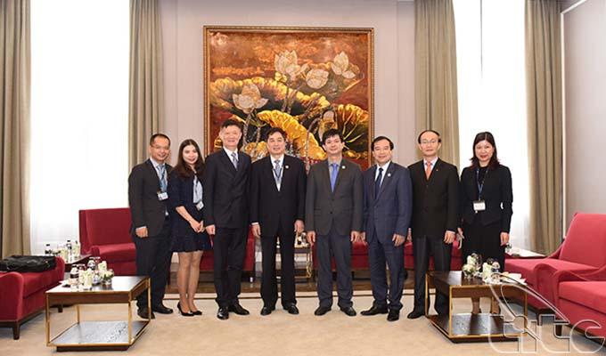 Thứ trưởng Lê Quang Tùng tiếp song phương Giám đốc điều hành Tổ chức Du lịch thế giới (UNWTO)