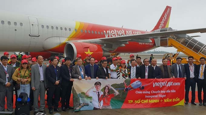 Vietjet launches new route connecting Ho Chi Minh City and Van Don