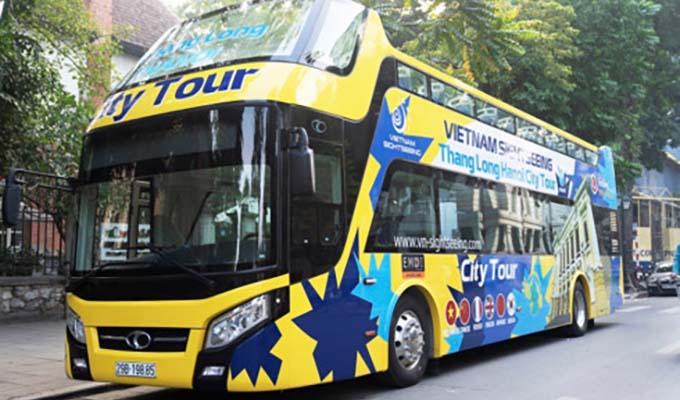 Ha Noi launches second open top bus tour