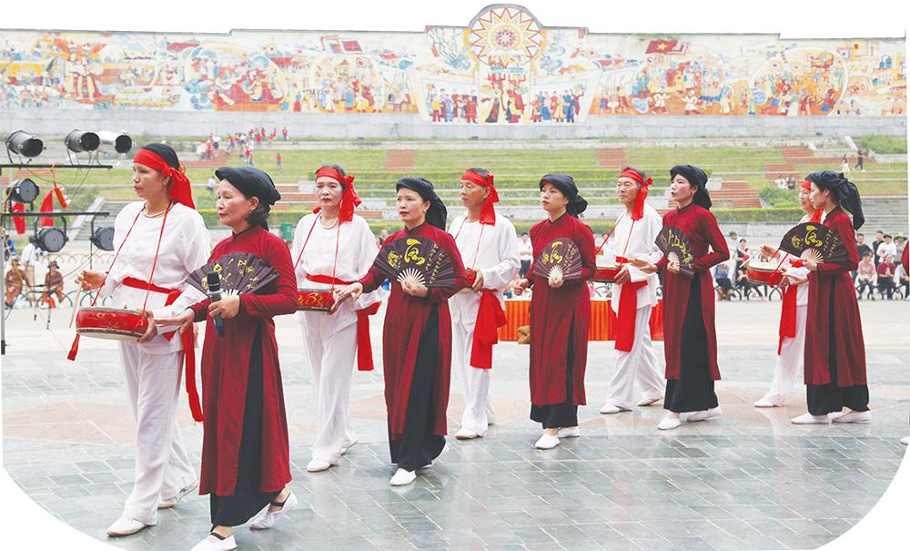 Phú Thọ - Miền quê 3 di sản văn hóa phi vật thể của nhân loại