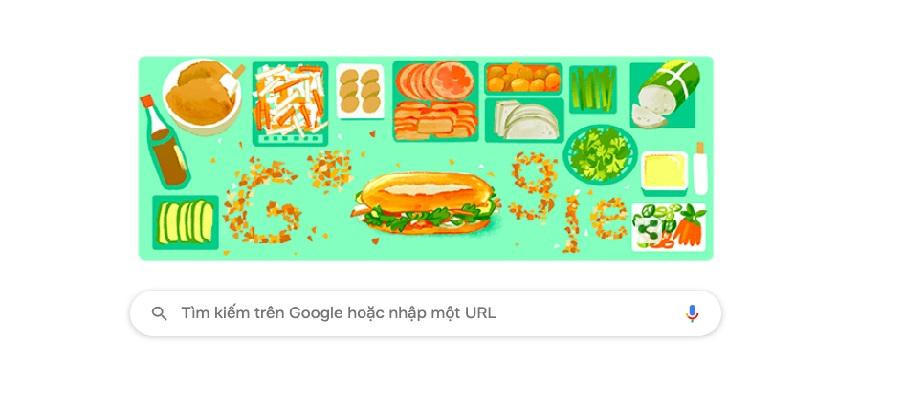 """Chiến dịch """"Tôi yêu bánh mì"""" và Google đưa bánh mì thành hình Doodle ở 12 quốc gia trên thế giới"""