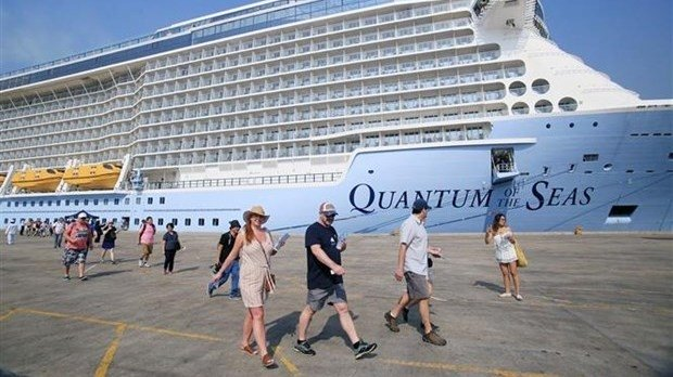 World's most modern cruise ship arrives in Ho Chi Minh City