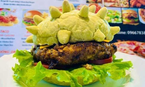 Viral food: Hanoi restaurant serves coronavirus-shaped burgers